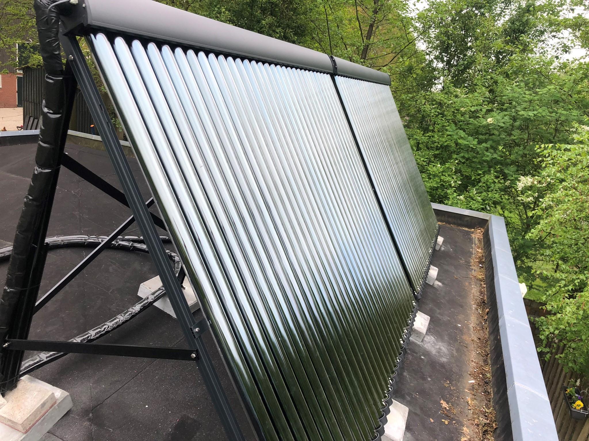heat pipes op dak